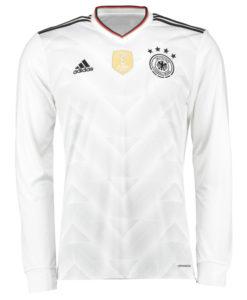 adidas ドイツ 2017 Home コンフェデレーションズカップ長袖 シャツ White