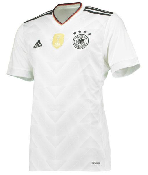 adidas ドイツ 2017 Home コンフェデレーションズカップ シャツ White 1
