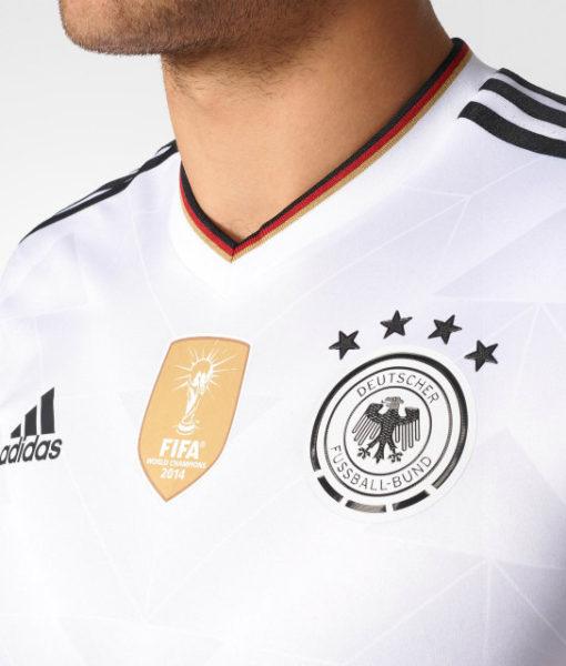 adidas ドイツ 2017 Home オーセンティック シャツ White