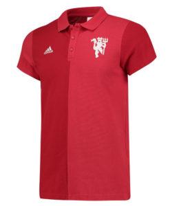 adidas マンチェスターユナイテッド 16/17 カジュアル ポロシャツ Red