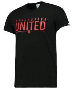 adidas マンチェスターユナイテッド 16/17 グラフィック Tシャツ Black