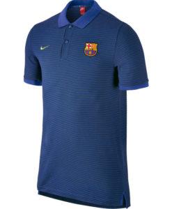 NIKE FCバルセロナ 16/17 AUTHグランドスラム ポロシャツ Blue