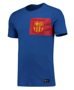 NIKE FCバルセロナ 16/17 エンブレム Tシャツ Blue