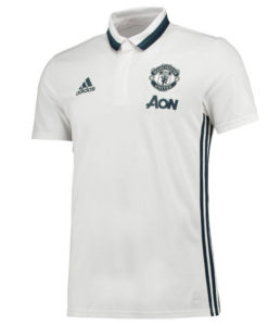 adidas マンチェスターユナイテッド 2017 トレーニング ポロシャツ White