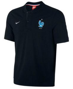 NIKE フランス オーセンティック グランドスラム ポロシャツ Black