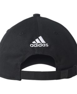 adidas マンチェスターユナイテッド 17/18 3ストライプ キャップ Black