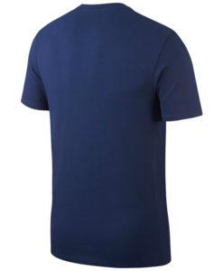 NIKE パリ サンジェルマン 17/18 エンブレム Tシャツ Blue