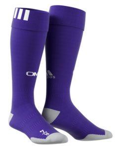 adidas マルセイユ 17/18 3rdユニフォーム ソックス Purple