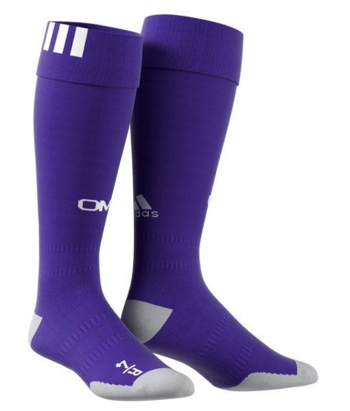 adidas マルセイユ 17/18 3rdユニフォーム ソックス Purple 1