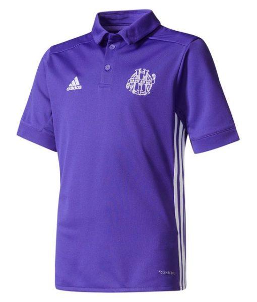adidas マルセイユ Kids 17/18 3rdユニフォーム シャツ Purple 1