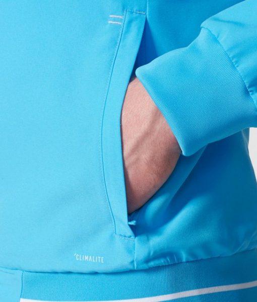 adidas マルセイユ 17/18 トレーニング プレゼンテーション ジャケット Blue