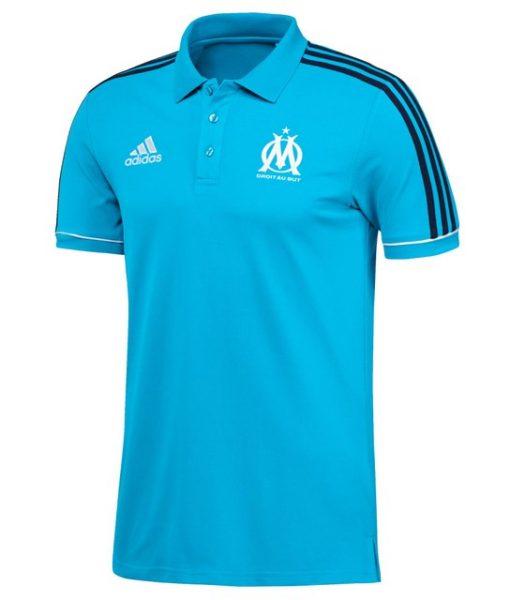 adidas マルセイユ 17/18 トレーニング ポロシャツ Blue 1