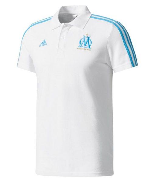 adidas マルセイユ 17/18 トレーニング ポロシャツ White 1