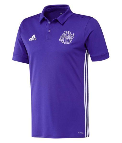 adidas マルセイユ 17/18 3rdユニフォーム シャツ Purple 1