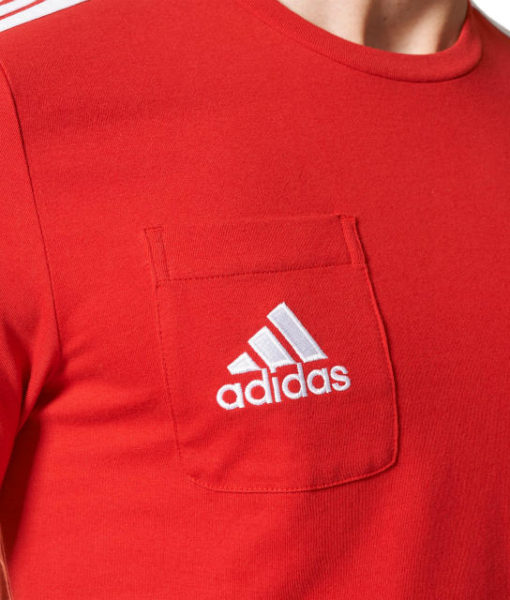 adidas バイエルン ミュンヘン 17/18 トレーニング Tシャツ Red