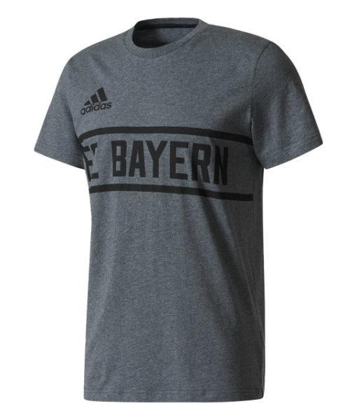 adidas バイエルン ミュンヘン 17/18 グラフィック Tシャツ Grey 1
