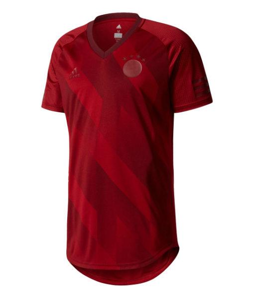 adidas バイエルン ミュンヘン 17/18 Tシャツ Red 1