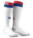 adidas オリンピック リヨン 17/18 ホーム ユニフォーム ソックス White