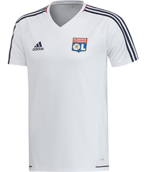 adidas オリンピック リヨン 17/18 トレーニング シャツ White 1