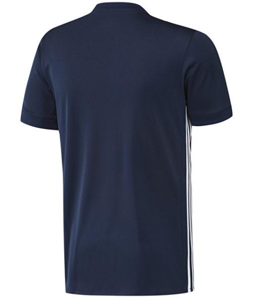 adidas オリンピック リヨン 17/18 アウェイ ユニフォーム シャツ Navy