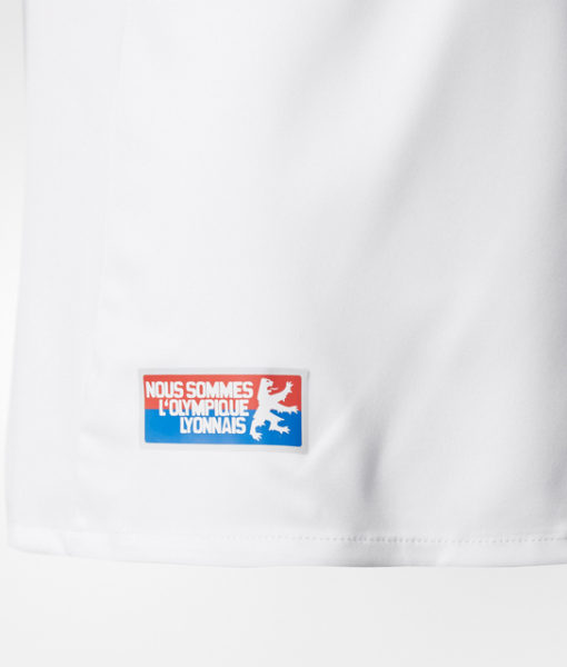 adidas オリンピック リヨン Kids 17/18 ホーム ユニフォーム シャツ White