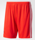 adidas オリンピック リヨン 17/18 アウェイ ユニフォーム ショーツ Red