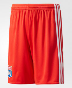 adidas オリンピック リヨン Kids 17/18 アウェイ ユニフォーム ショーツ Red