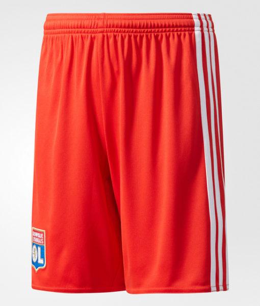 adidas オリンピック リヨン Kids 17/18 アウェイ ユニフォーム ショーツ Red 1