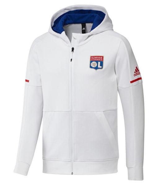 adidas オリンピック リヨン 17/18 アンセム ジャケット White 1