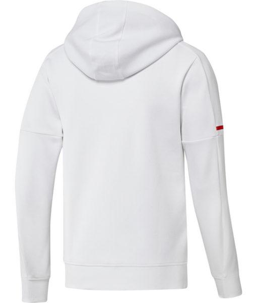 adidas オリンピック リヨン 17/18 アンセム ジャケット White
