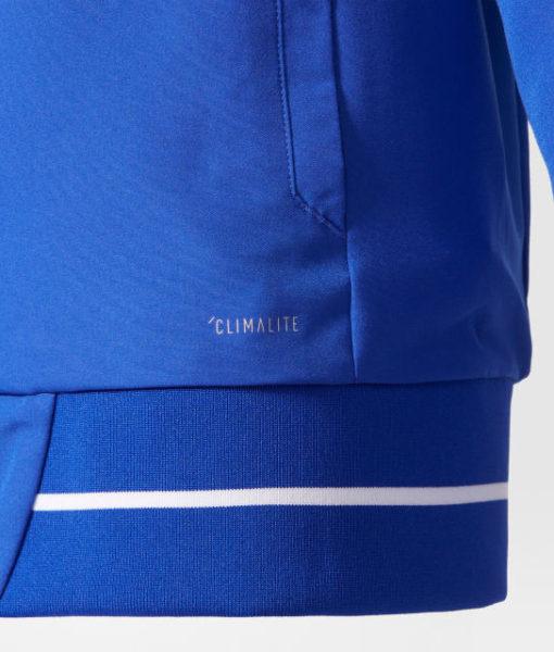 adidas シャルケ04 Kids 17/18 プレゼンテーション ジャケット Blue