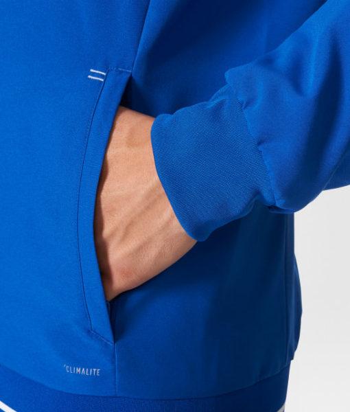 adidas シャルケ04 17/18 プレゼンテーション ジャケット Blue