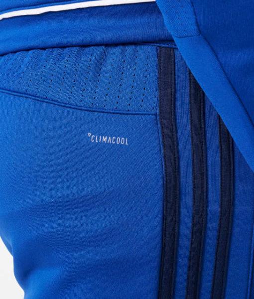 adidas シャルケ04 Kids 17/18 トレーニング ニット パンツ Blue