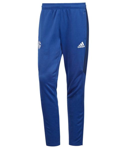 adidas シャルケ04 17/18 トレーニング ニット パンツ Blue 1