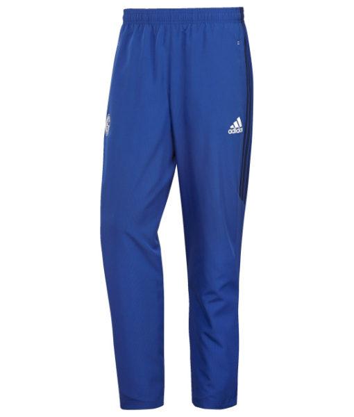 adidas シャルケ04 17/18 トレーニング ウーブン パンツ Blue 1