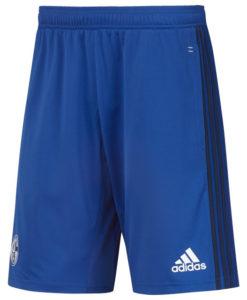 adidas シャルケ04 17/18 トレーニング ニット ショーツ Blue