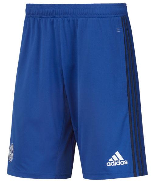 adidas シャルケ04 17/18 トレーニング ニット ショーツ Blue 1