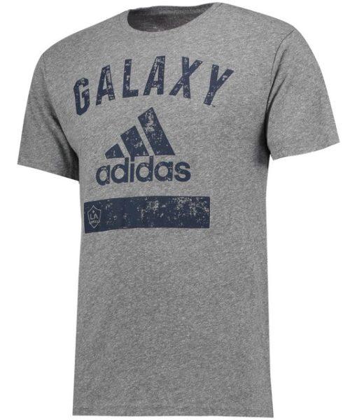 adidas LAギャラクシー 2017 カジュアル Tシャツ Grey 1