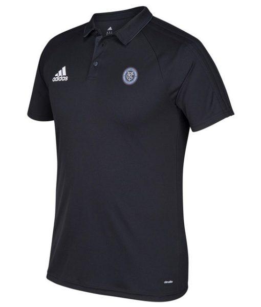 adidas ニューヨークシティ 2017 トレーニング ポロシャツ Black 1