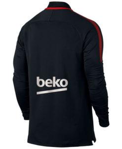 NIKE FCバルセロナ 17/18 Squad トレーニング ドリル トップ Black