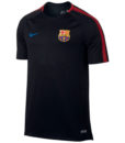 NIKE FCバルセロナ 17/18 Squad トレーニング シャツ Black