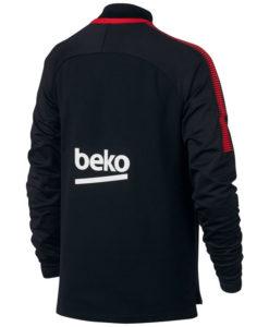 NIKE FCバルセロナ Kids 17/18 Squad トレーニング ドリル トップ Black