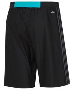 adidas レアルマドリード 17/18 トレーニング ニット ショーツ Black
