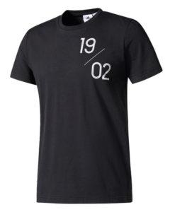 adidas レアルマドリード 17/18 グラフィック Tシャツ Black