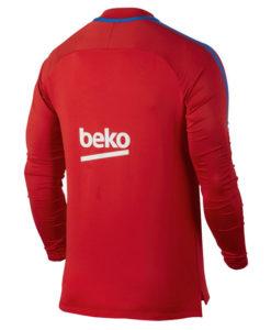NIKE FCバルセロナ 17/18 Squad トレーニング ドリル トップ Red