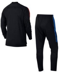 NIKE FCバルセロナ 17/18 Squad トレーニング ニットトラック スーツ Black