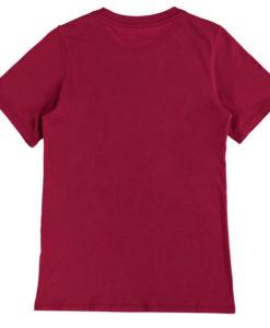 NIKE FCバルセロナ Kids 17/18 エンブレム Tシャツ Red