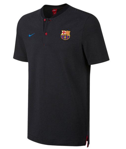NIKE FCバルセロナ 17/18 オーセンティック グランドスラム ポロシャツ Black 1