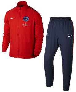 NIKE パリ サンジェルマン 17/18 Squad トレーニング ウーブントラック スーツ Red