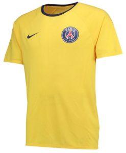 NIKE パリ サンジェルマン 17/18 レプリカ Tシャツ Yellow